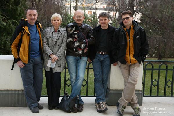 Глеб Соколов, Наталья, Жан-Клод и Крунер Мармье, Саня Ручкин, Виталий Горелик