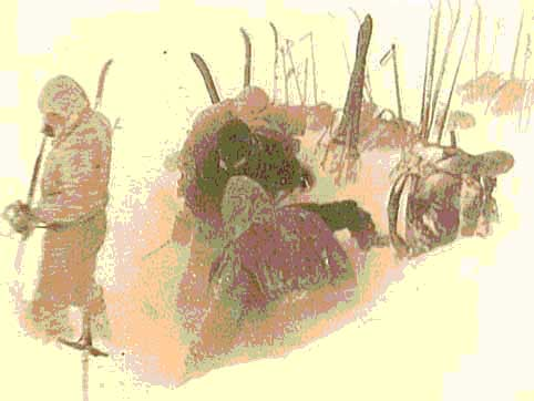 Последнее фото группы Дятлова.
