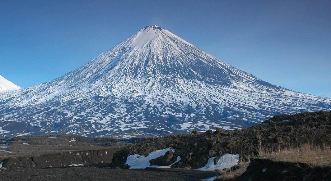 вулкана Ключевская сопка