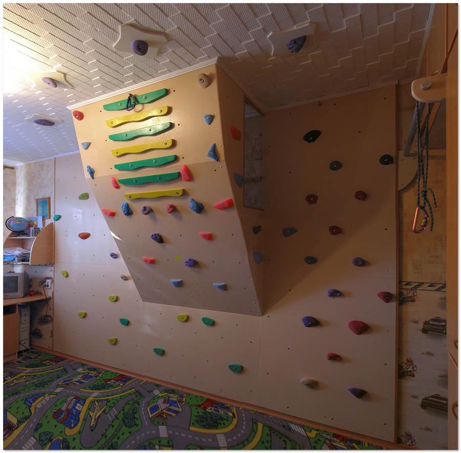 проект скалолазная стенка фанера