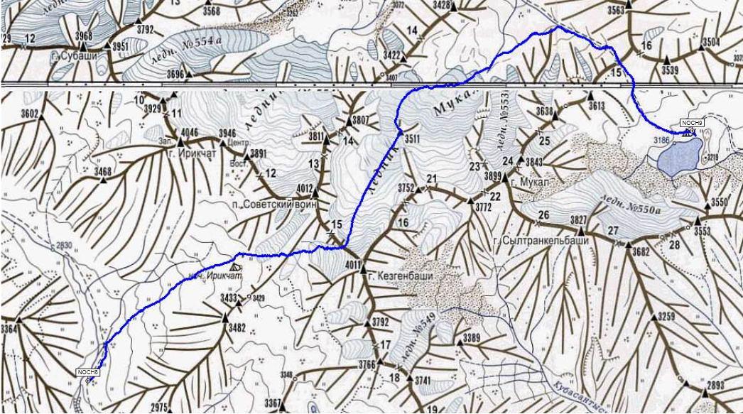Отчет о горном походе 3 к.с. по Приэльбрусью в июле 2014. Часть 2 ...