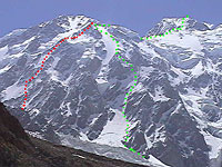 new  route on Nanga Parbat