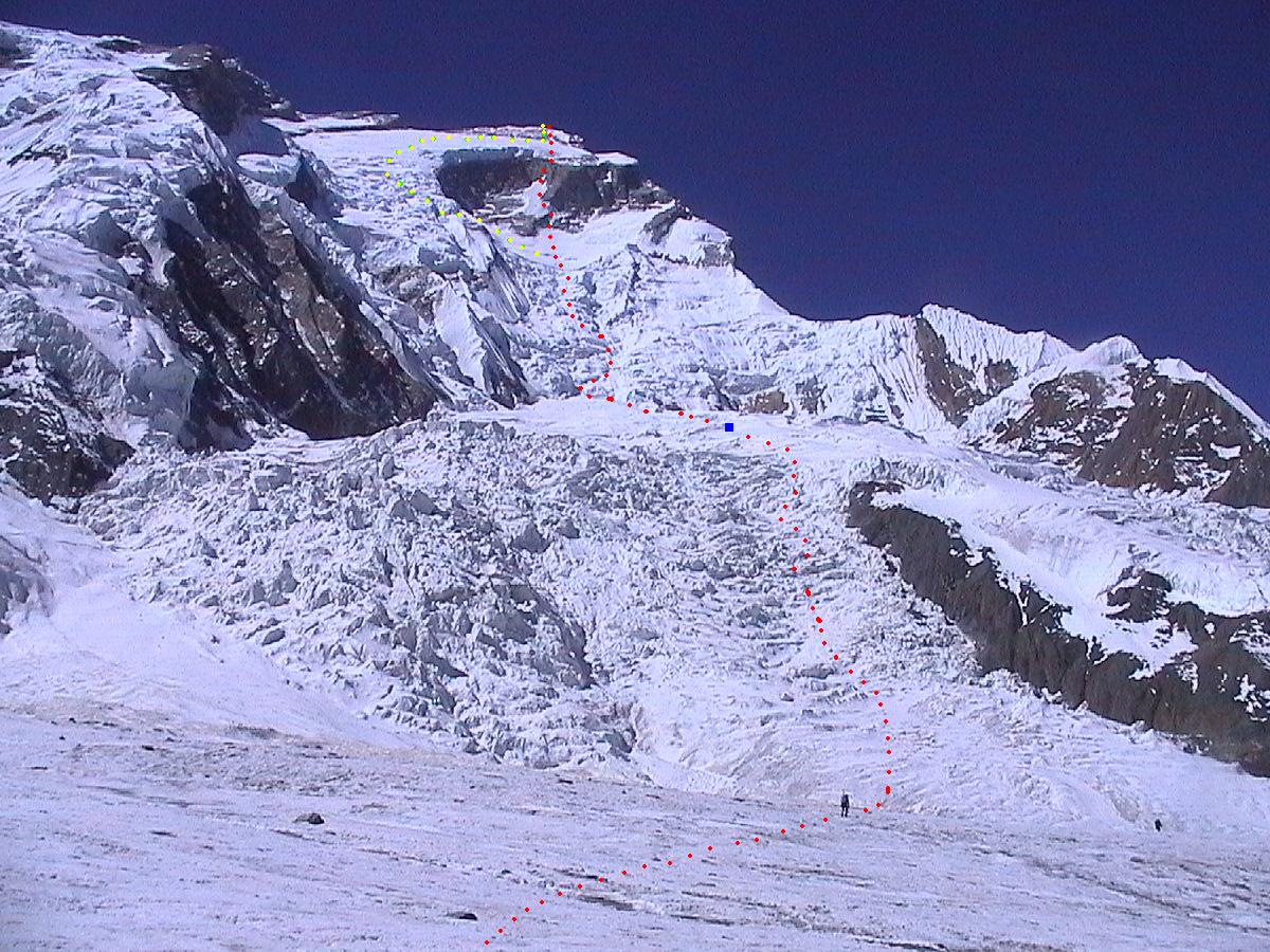 Simone Moro, Denis Urubko. Doublet: Baruntse North Face ...