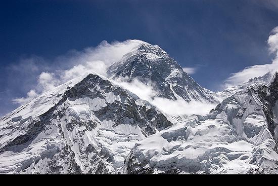 Эверест с юго-запада.