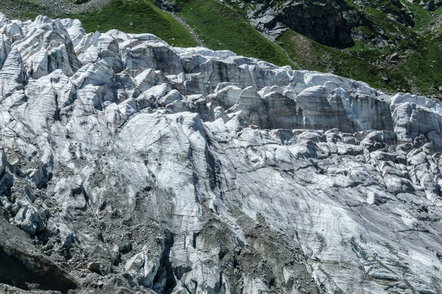 Кавказ на двух колесах. Ледник Кашак Таш