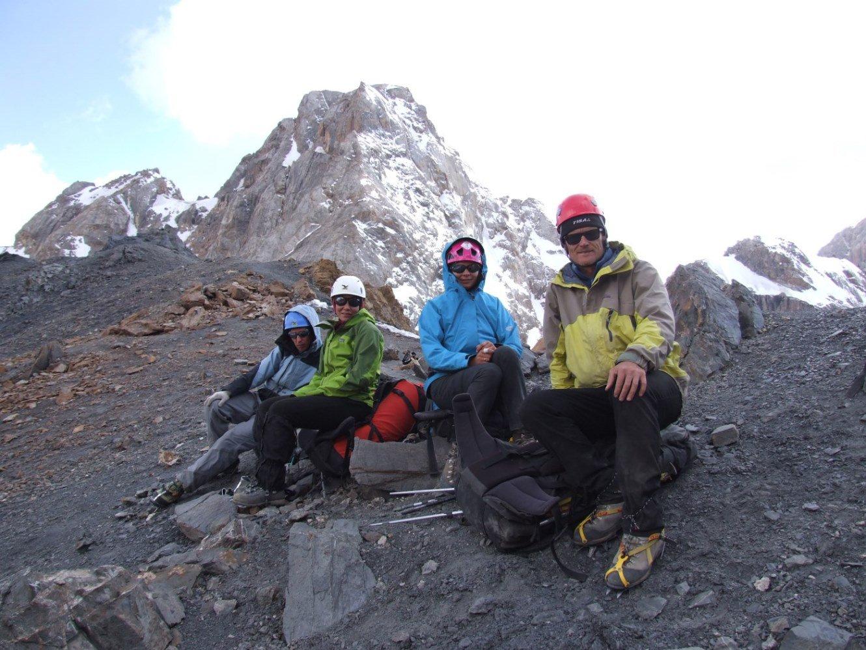 Отчет о горном походе 5 категории сложности проведенном в районе Памиро-Алая