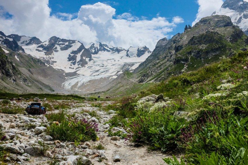 Отчет о горном туристском походе 1 к.с. по Приэльбрусью