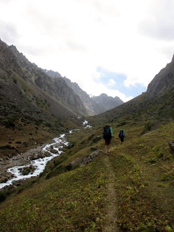 Отчет прохождении горного маршрута 2 к.с. по Северному Тянь-Шаню (хребет Киргизский)