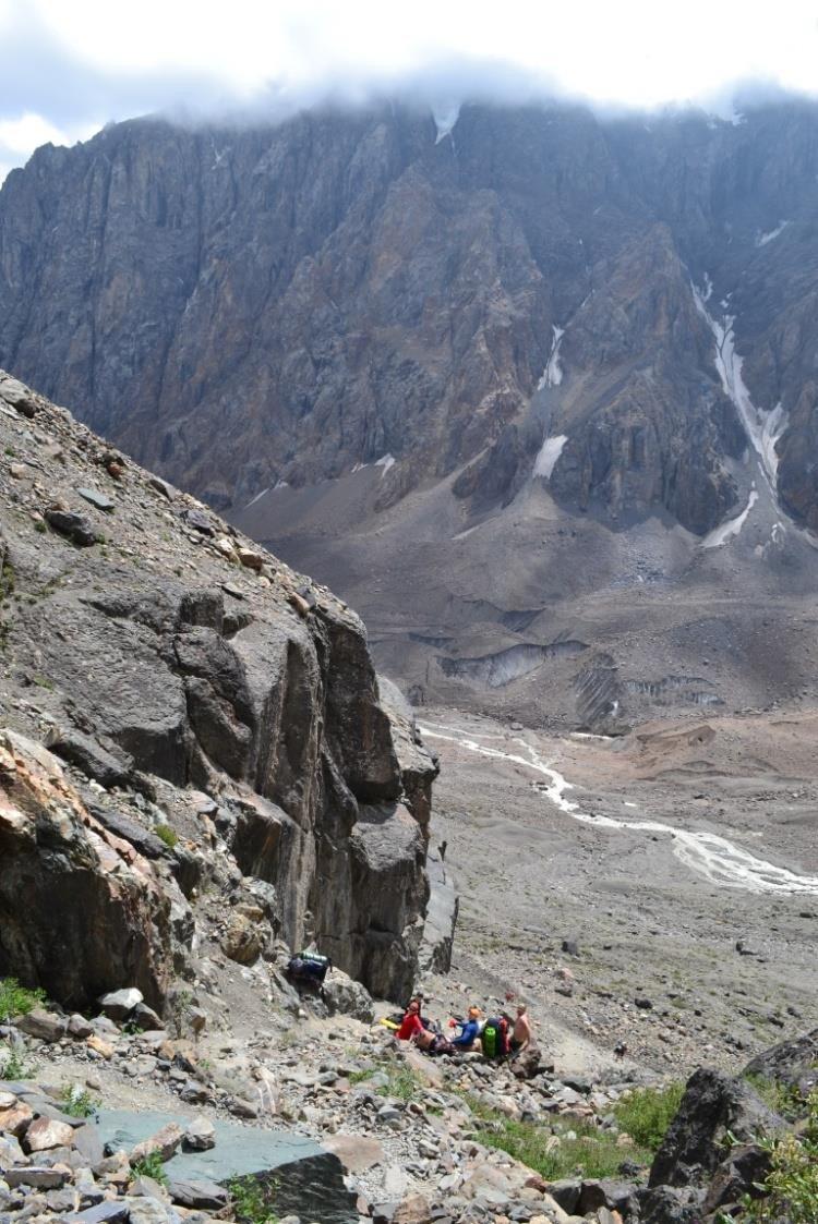 Отчет о горном маршрут 4 к.с. Северо-Чуйским белкам (Алтай)