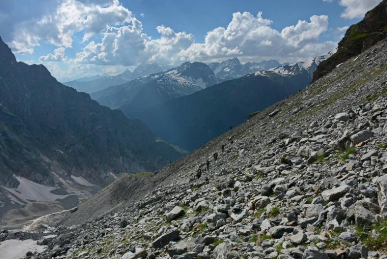 Отчёт о горном туристском походе 2 к.с. по Ц. Кавказу (Сванетия)