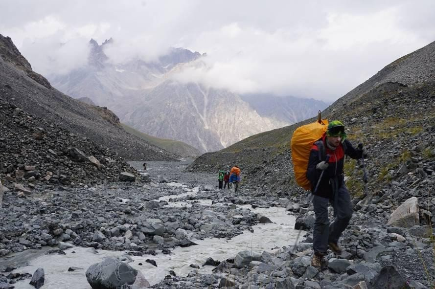 Отчет о горном маршрута 2 к.с.по Киргизскому хребту (Тянь-Шань)