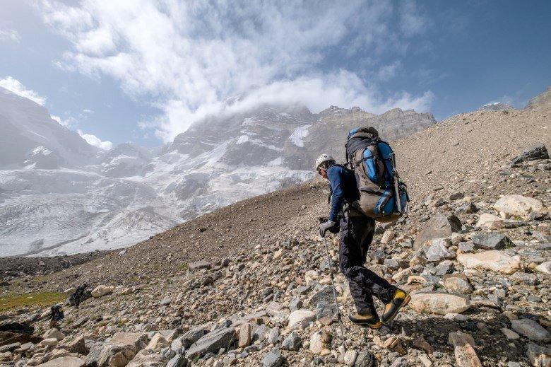 Отчет о спортивном походе 6 к.с.,проведенном на Юго-Западном Памире (Шахдаринский хребет)