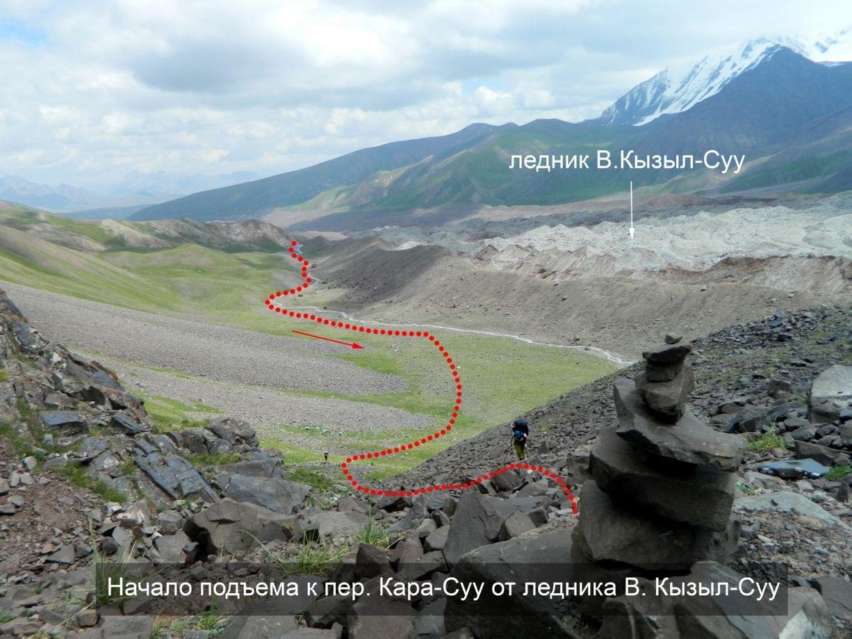 Отчет о горном походе 5 к.с. по Сев. Памиру (Заалайский хребет)