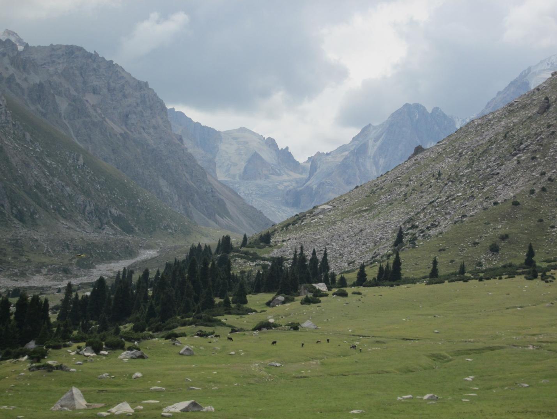 Отчет о некатегорийном путешествии по Джаргылчакскому отрогу Терскей-Алатау