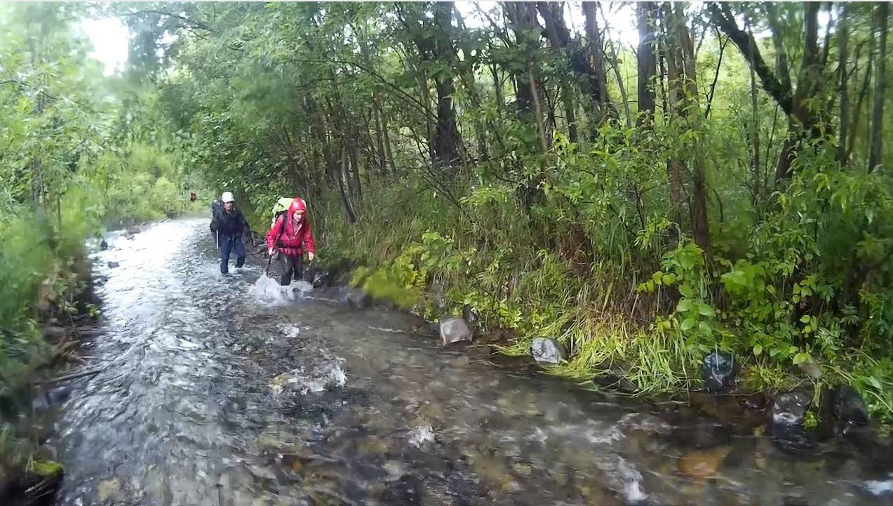 Отчет о пешеходном спортивном походе 6 к.с.по Восточному хребту полуострова Камчатка