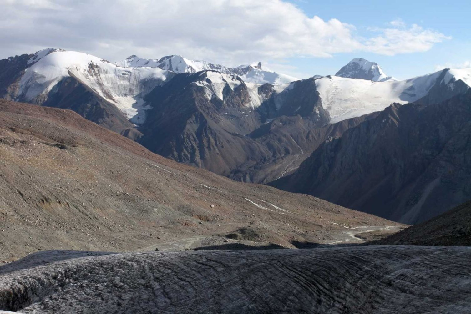 Отчет о горном походе 3 к.с. по Ц.Тянь-Шаню