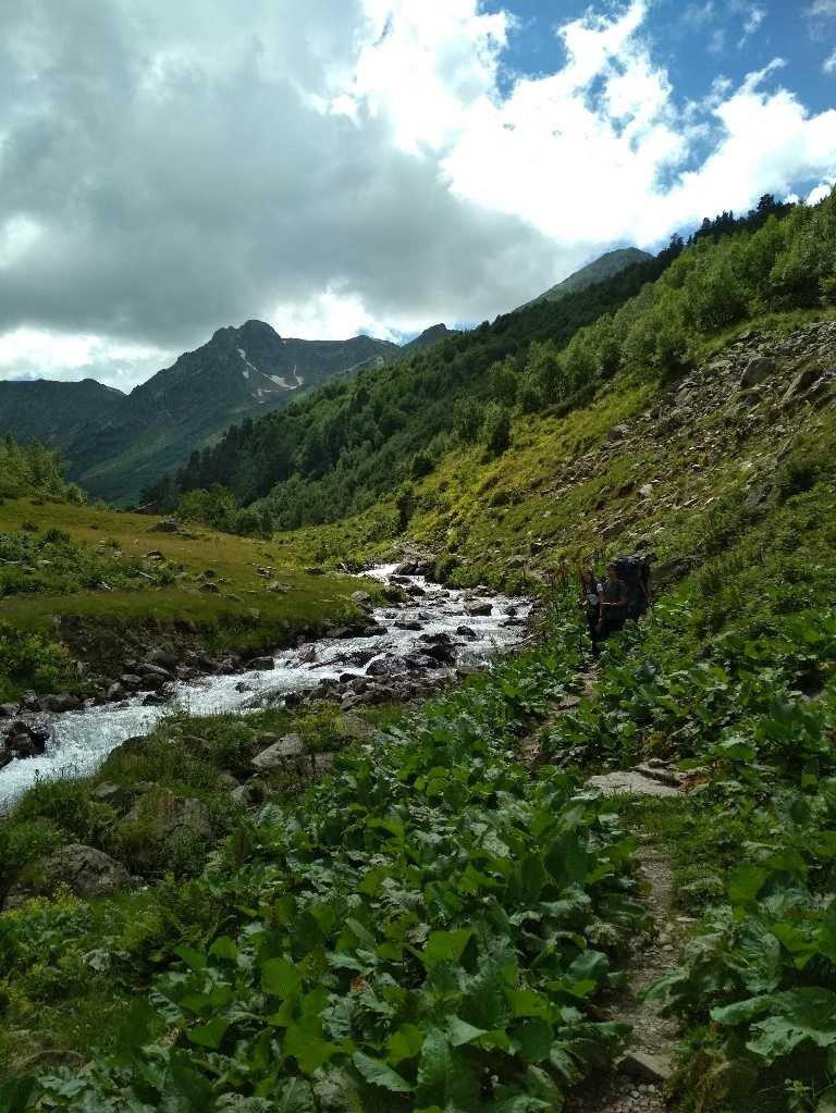 Отчет о горном походе 1 к.с. по Западному Кавказу (хребет Абишира- Ахуба)