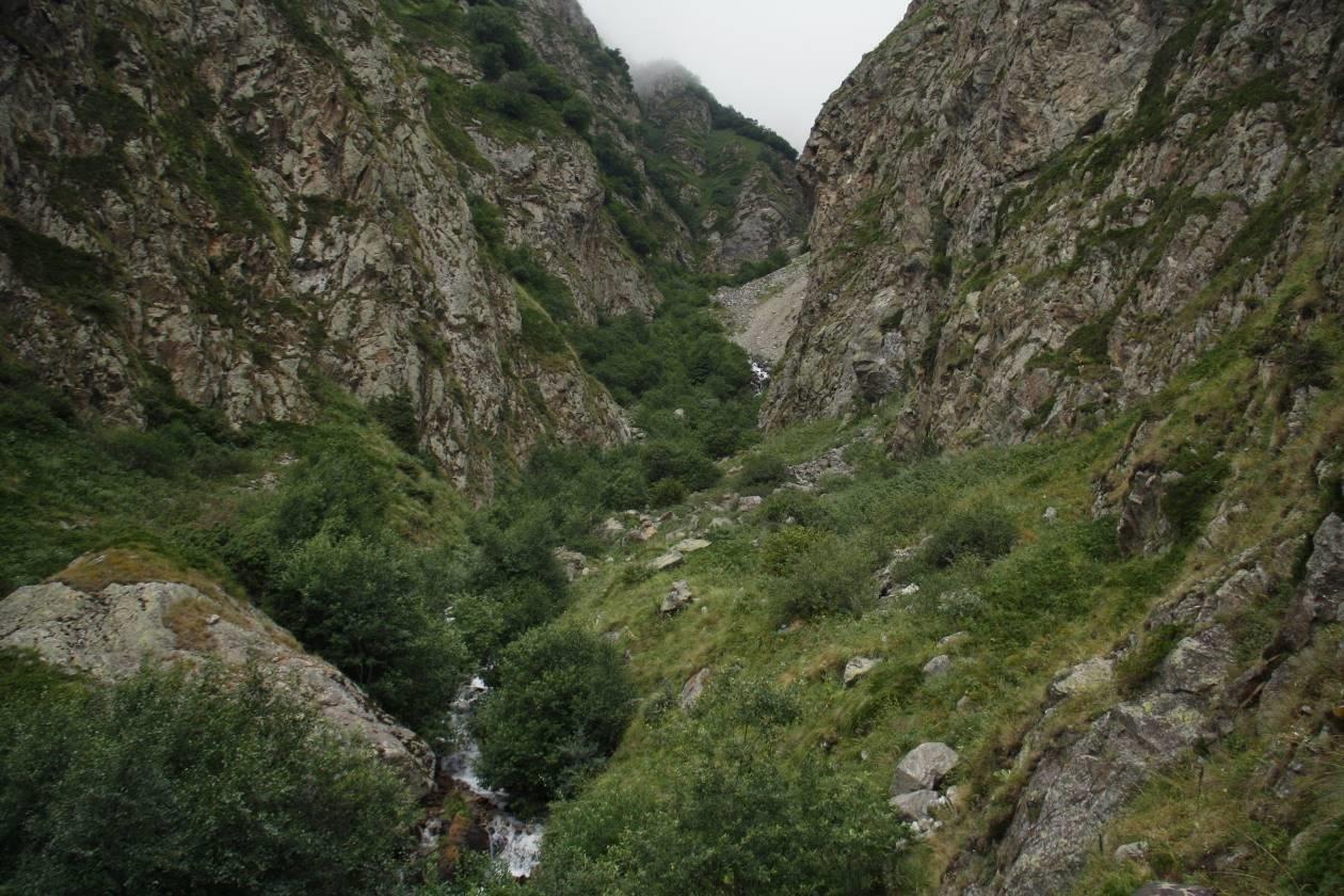 Отчет о пешем походе 4 к.с. по Ц.Кавказу