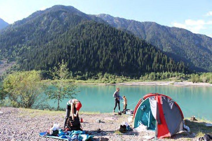 Отчет о горном походе 4 к.с. по Сев. Тянь-Шаню