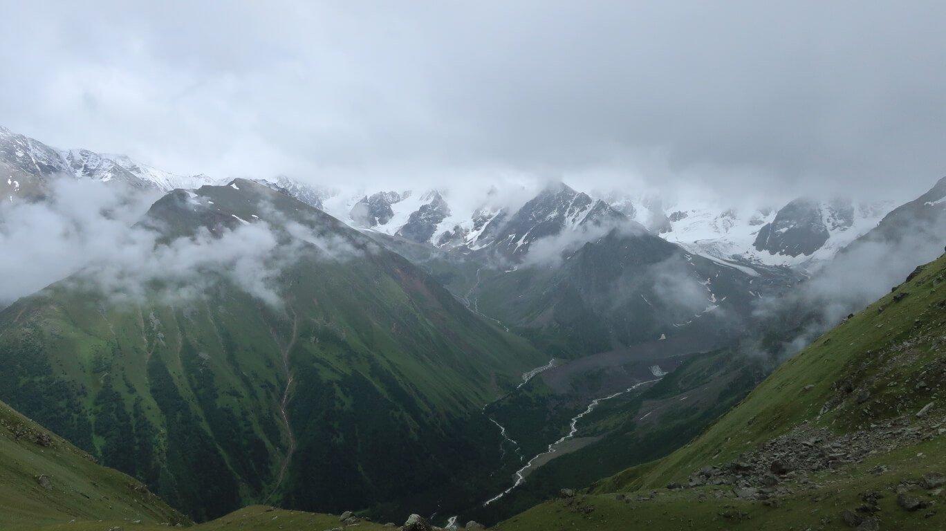 Отчёт о горном походе 1 к.с в районе Центр. Кавказа в июле 2019 года