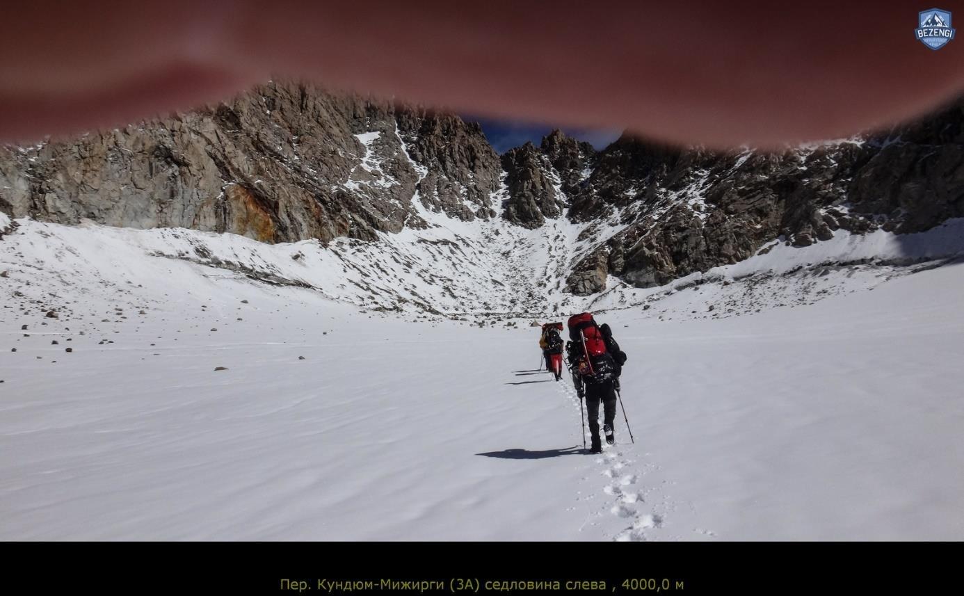 Отчет о горном маршруте 5 к.с. по Ц.Кавказу