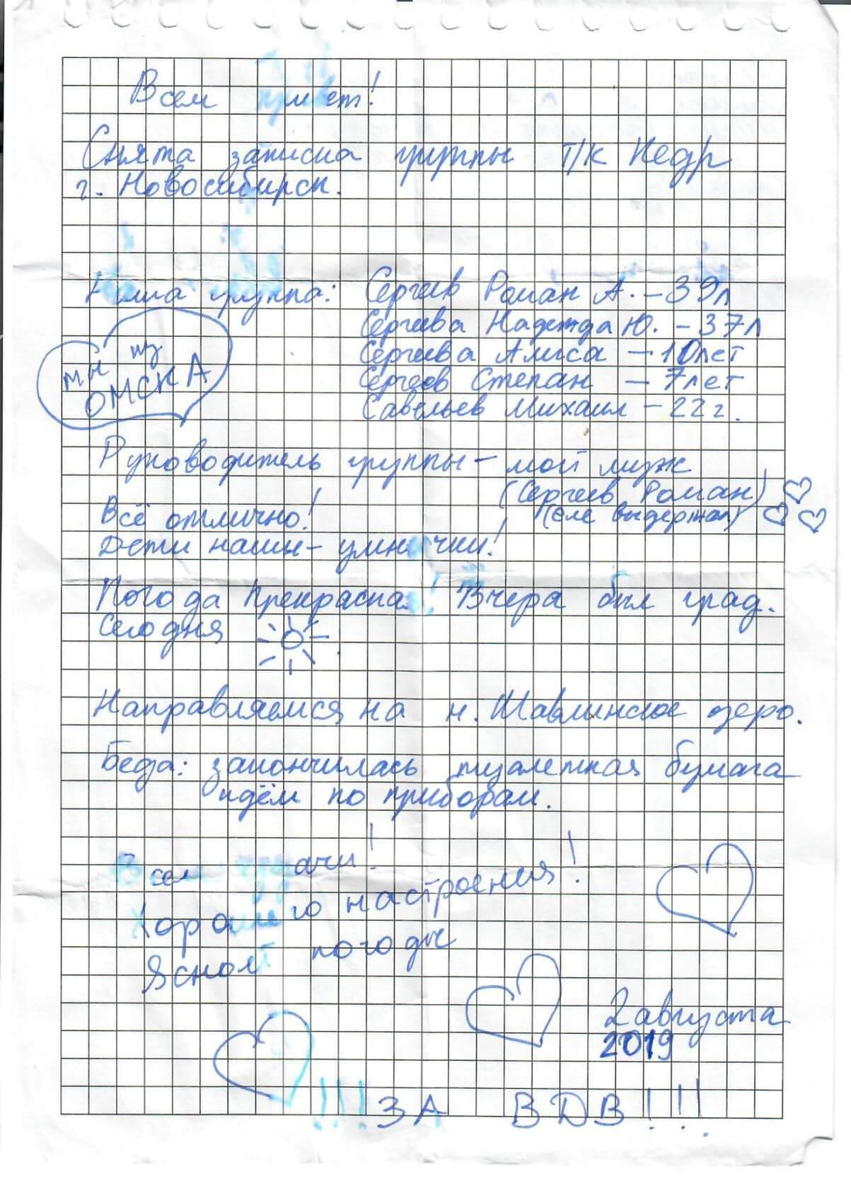 Отчет o горном походе 5 к.с., совершенном в районе Чуйских Белков