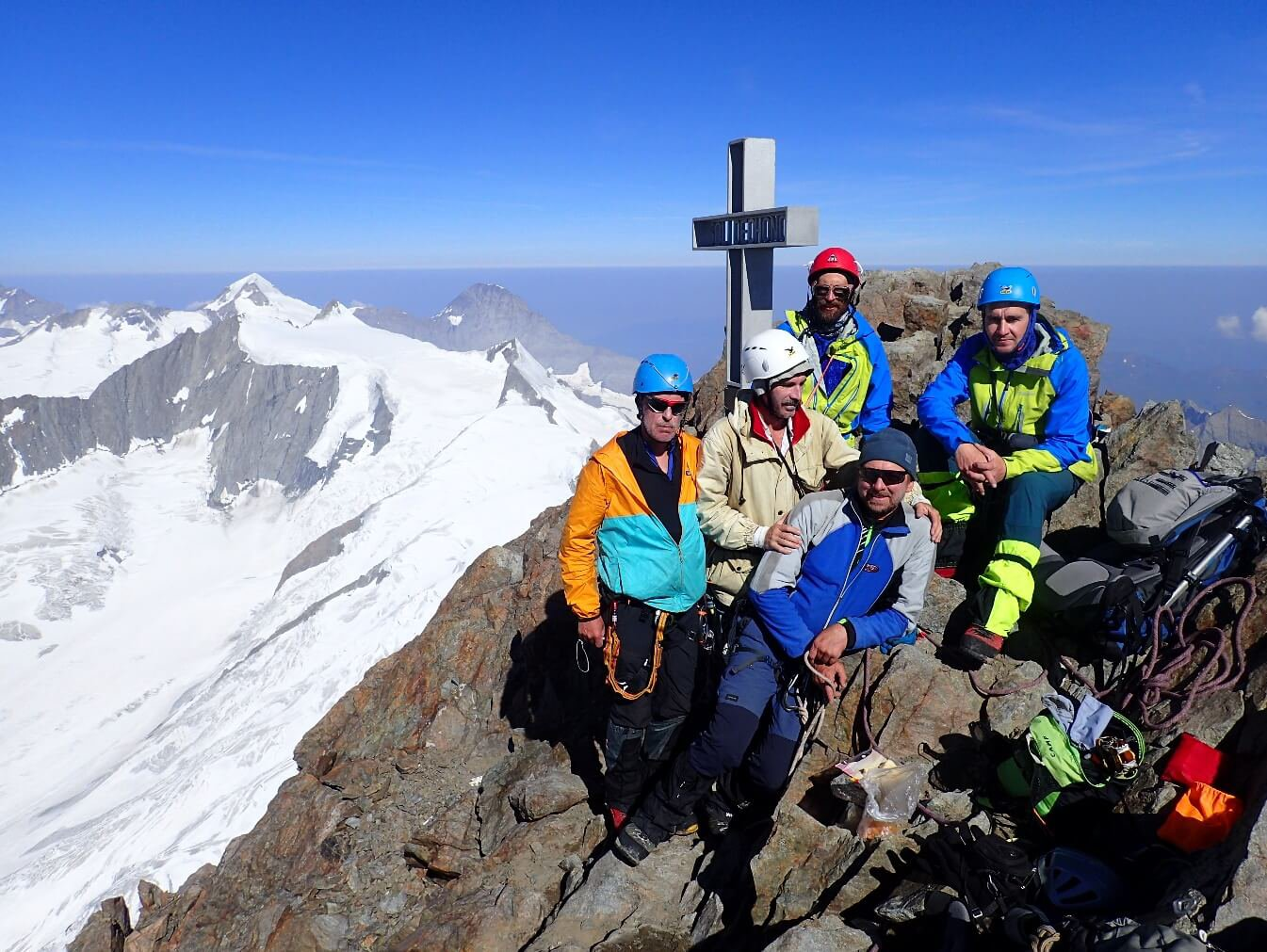 Отчет горном походе 5 к.с.. по Бернским и Лепонтинским Альпам (Швейцария)