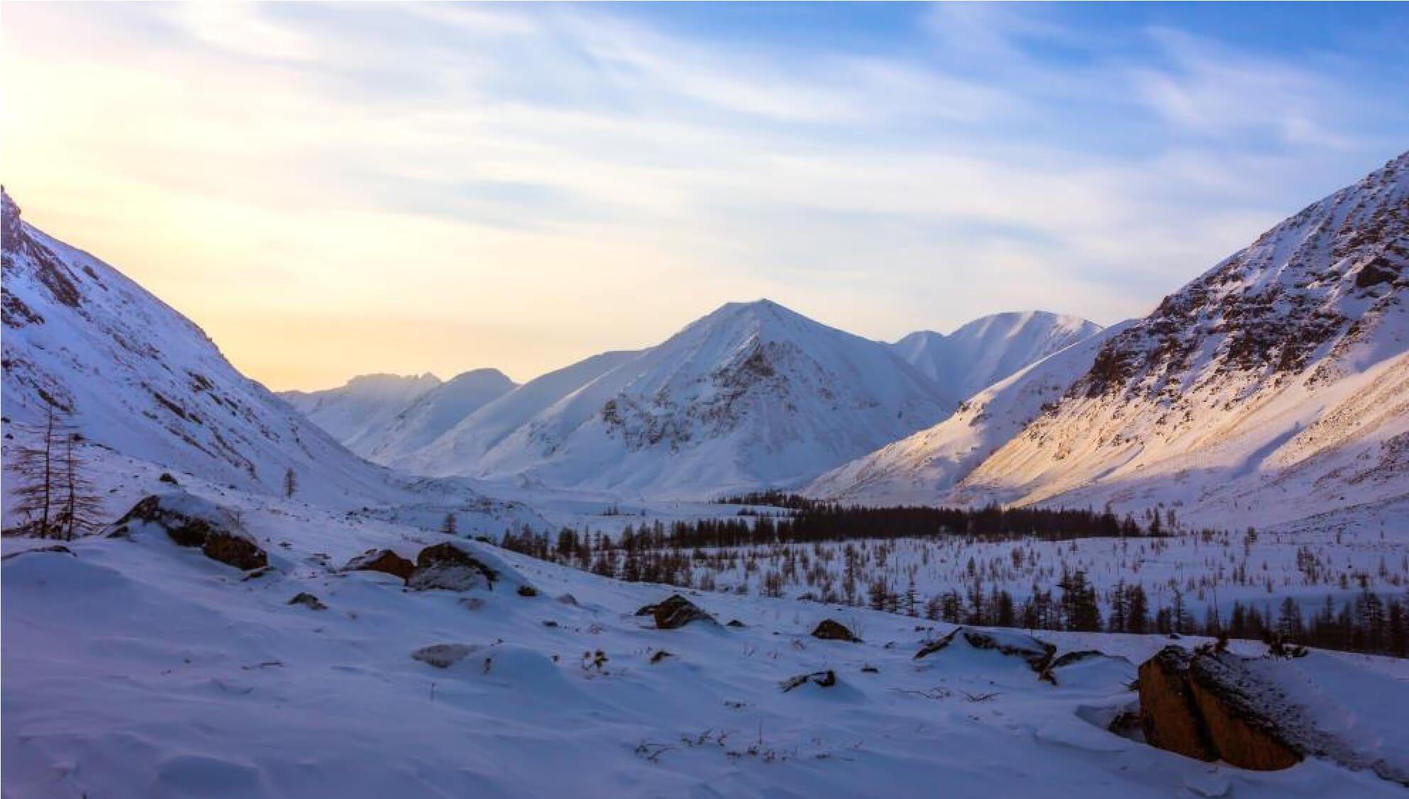Отчет о лыжном туристском походе 5 к.с. по Удоканскому хребту