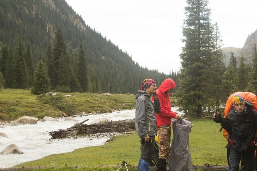 Отчет о горном спортивном маршруте 2 к.с.по Киргизии (хребет Терскей-Ала-Тоо)