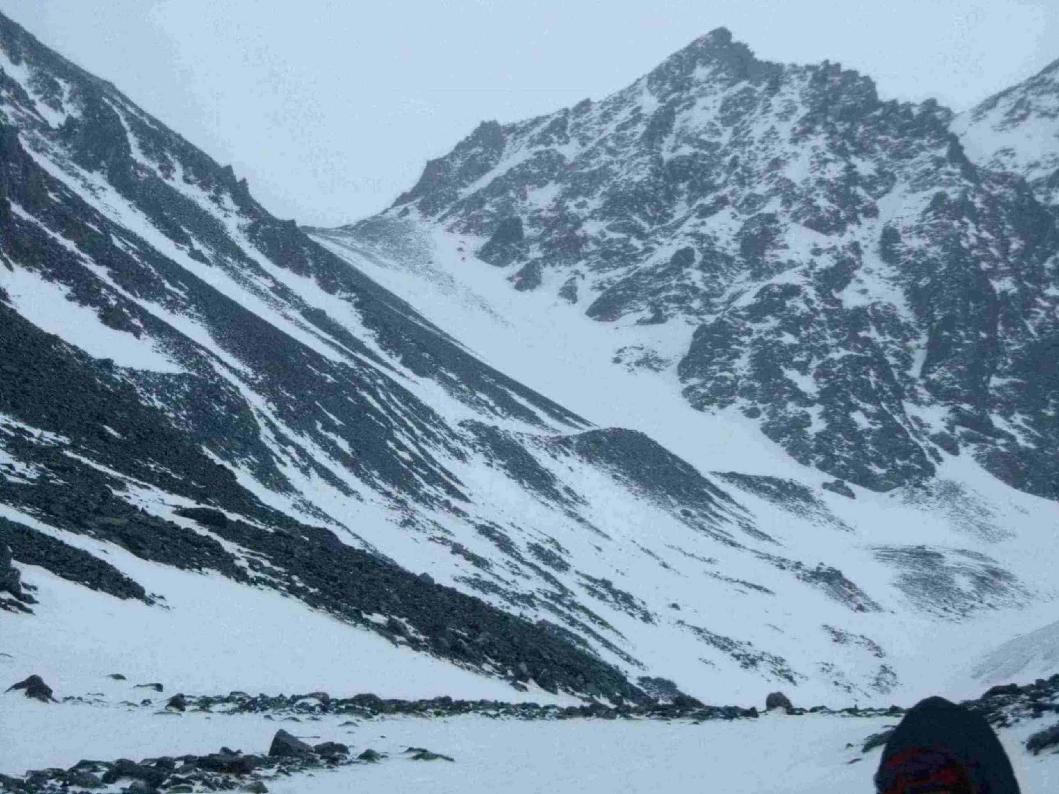 Отчет о горном походе 3 к.с. совершенном по Южно-Чуйскому хребту