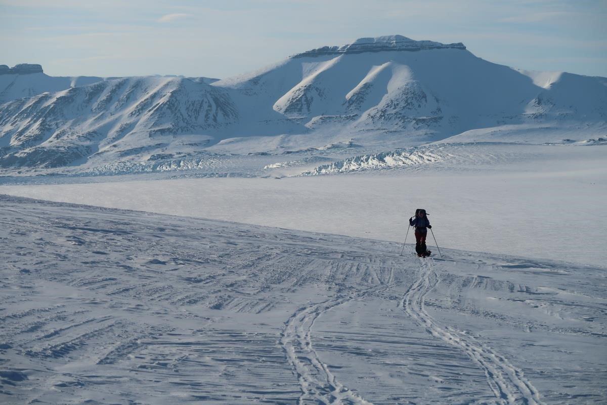 Отчет о лыжном маршруте 6 к.с. по Шпицбергену