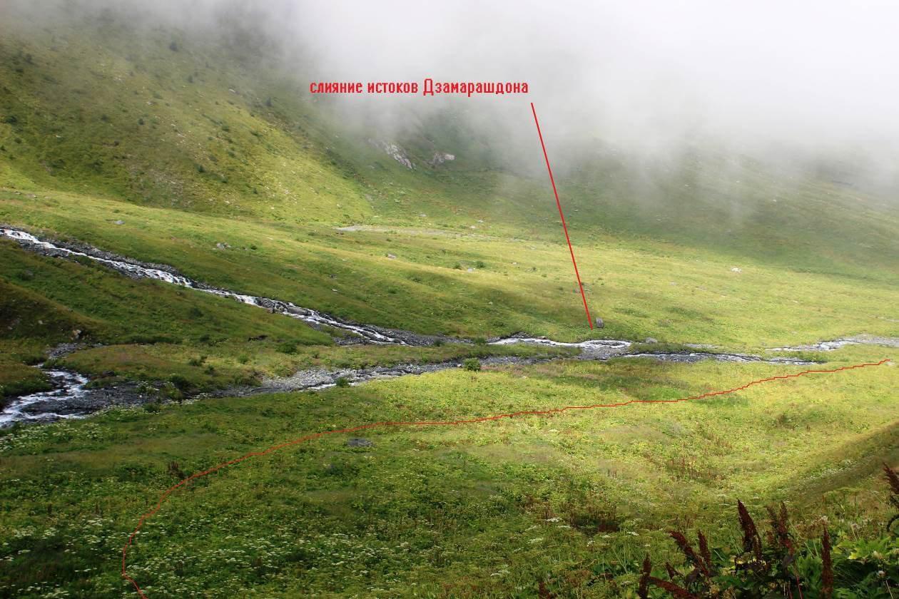 Отчет о горном маршруте 4 к.с. по Ц. Кавказу