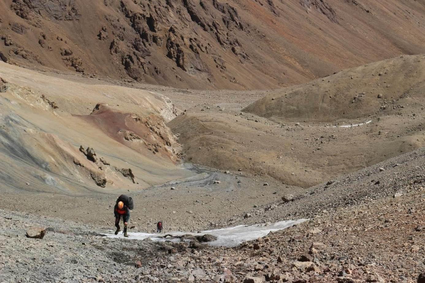Отчет о горном походе 5 категории сложности по Памиру, хребет Музкол
