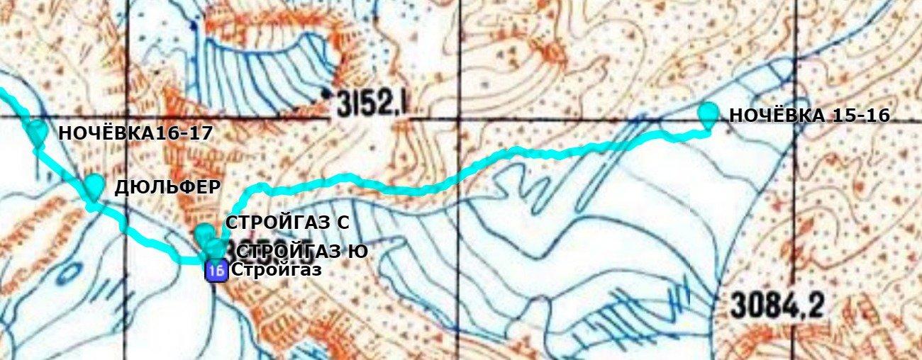 Отчёт о горном маршруте 2 к.с. по Ц.Алтаю