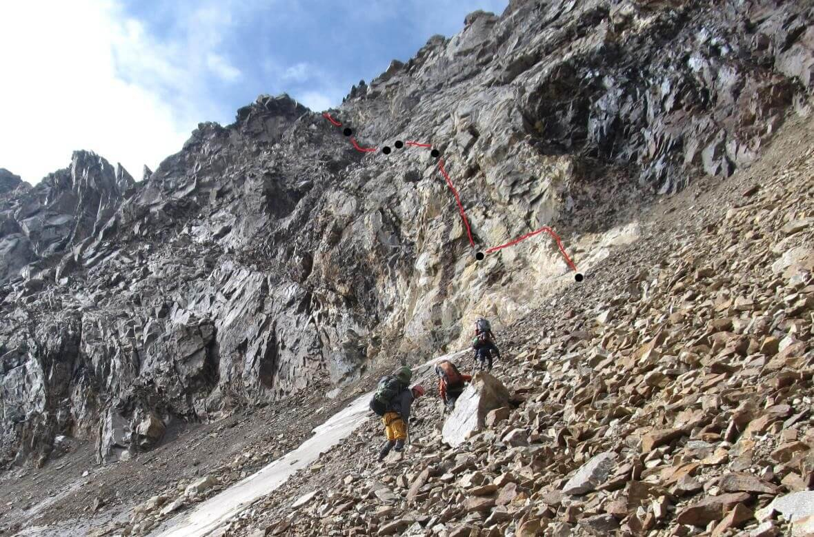 Отчет о горном походе 4 к.с. в районе Терскей-алатау