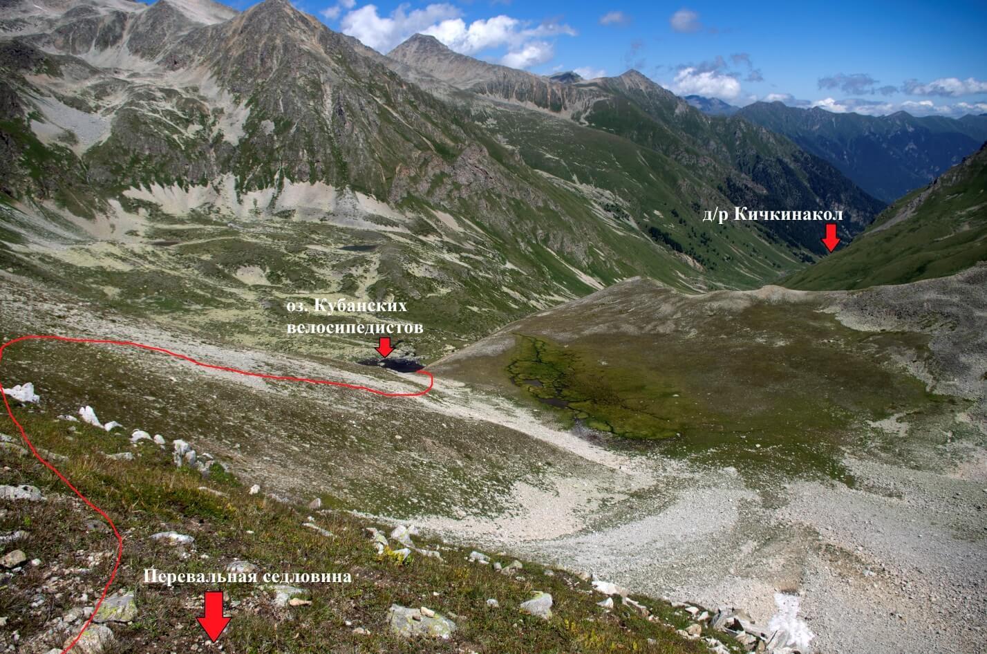 Отчет о горном походе 1 к.с. по Западному Кавказу