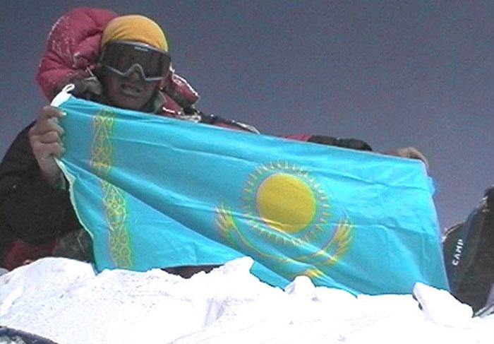 автор флага казахстана