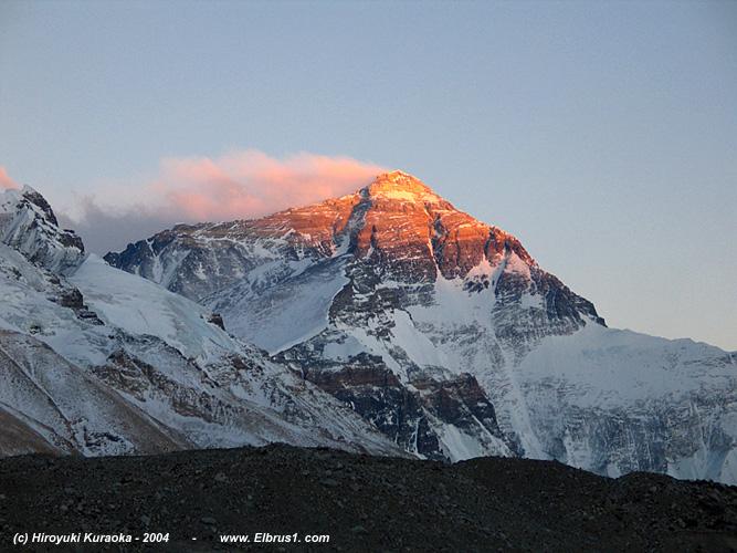Эверест с севера по u0026