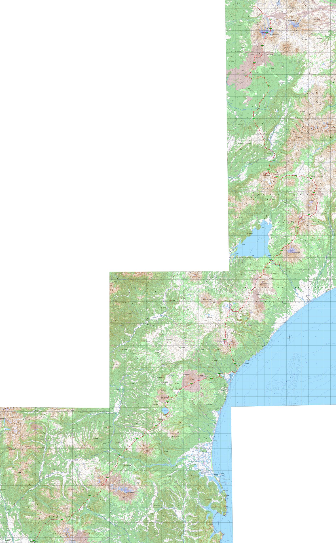 Отчёт о пешеходном туристском походе V категории сложности по полуострову Камчатка